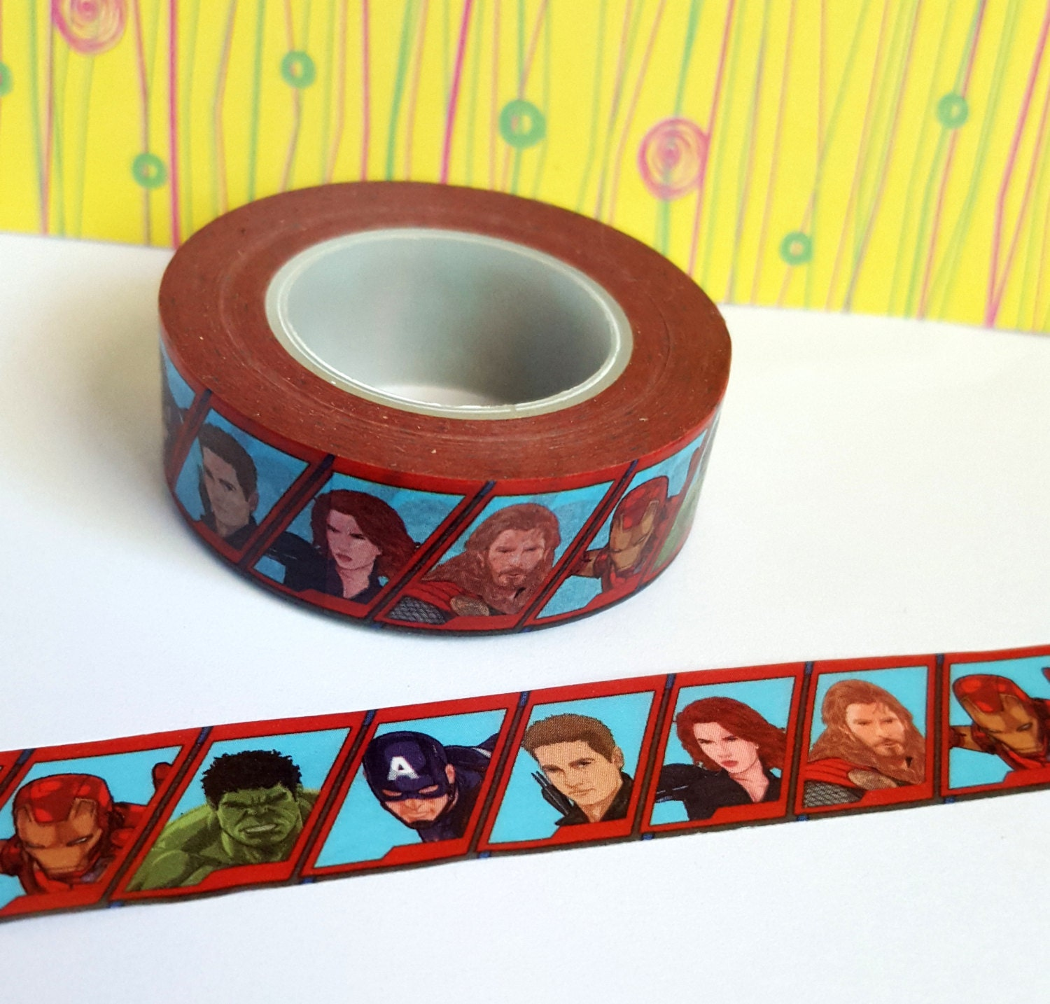 Washi Sample - Avengers Washi Sample - The Avengers Washi Sample ...