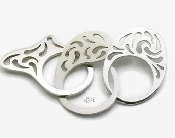 Unique Handmade Silver Rings, Sterling Silver Unique Rings, Boho Rings, Traforo Ring, Contemporary jewelry, Handmade