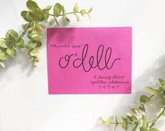 Wedding Invitations / Envelope Addressing / Scout Design