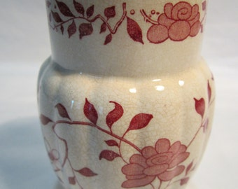 Vintage English Made Flower Vase