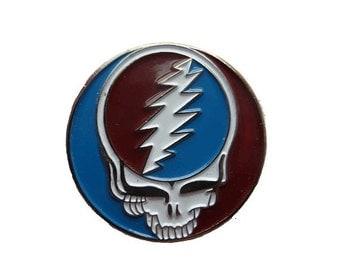 Grateful Dead Lightning Bolt Pin