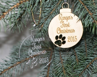 Personalized Dog Ornament, Christmas Ornaments Handmade, Personalized Christmas Ornament