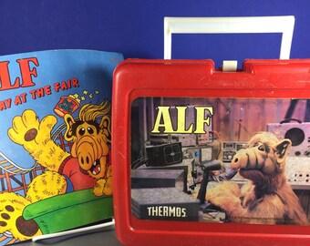 ALF Lunch Box and ALF book