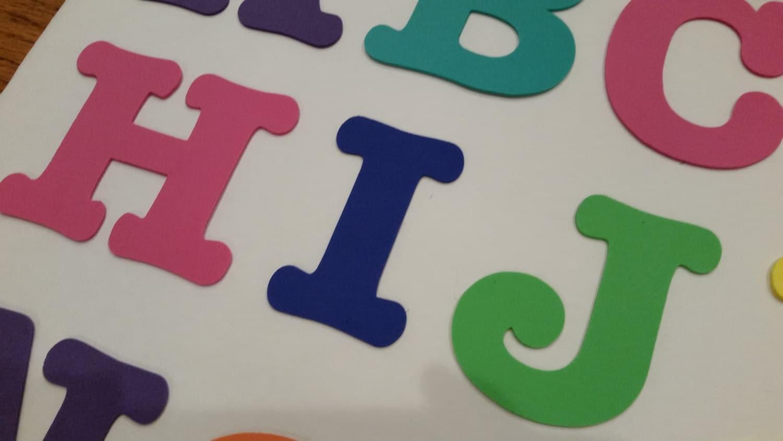 large foam capital letters craft letters foam alphabet With big foam alphabet letters