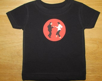 PF Inspired Black Creeper or Toddler Tee your choice of color