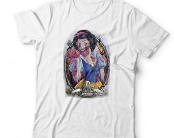Disney Princess Inspired Zombie Tshirt - Snow White