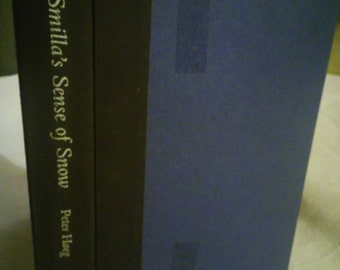 1993 first edition of Smilla's Sence Of Snow by Peter Hoeg