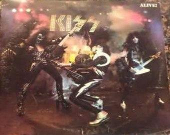 "2"" x 3"" Magnet Kiss Vintage Record Jacket MAGNET"