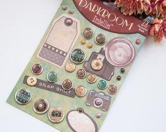 Decorative brads - Darkroom