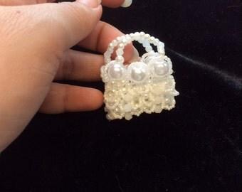 Sinny's beaded little purse