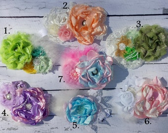 Headbands.Flowers headbands.