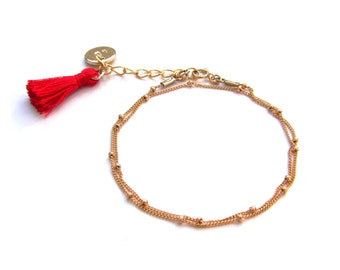 Bracelet satellite gold