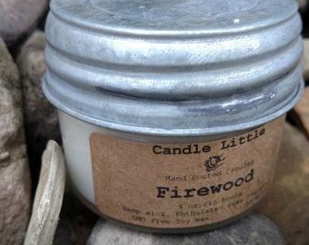 WHOLESALE 4 OZ. Small Hand poured, GMO Free Soy Candle
