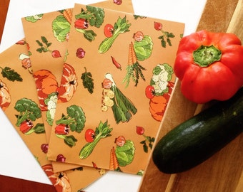 Veggie Patch Wrapping Paper