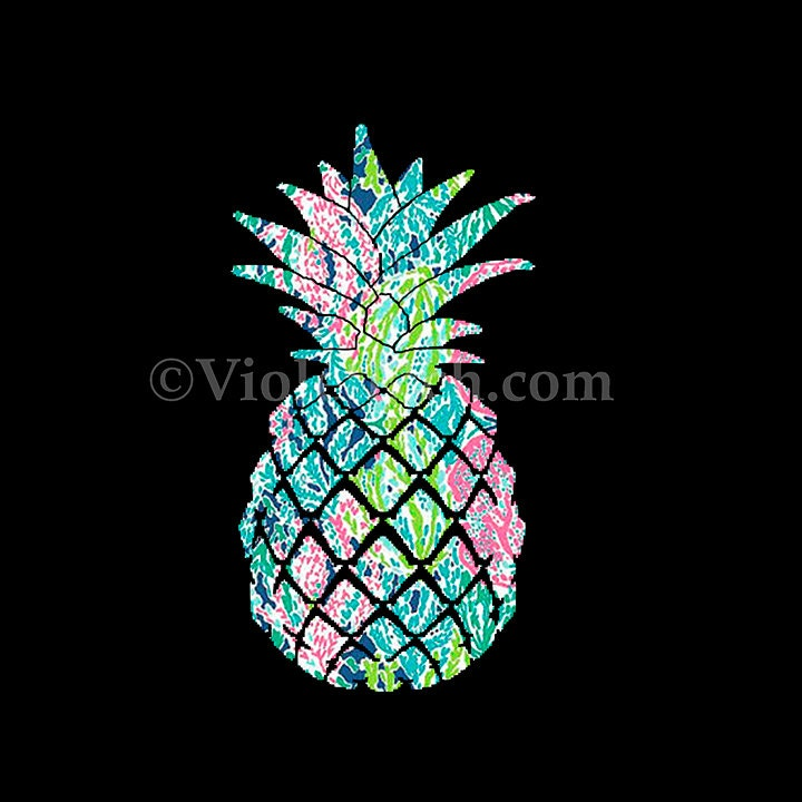 Pineapple Decal Yeti Cup Decal Window By Violetetch On Etsy