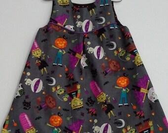 Puperita Pattern, Girls Dress, Halloween Dress, Toddler Dress