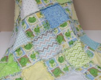 Handmade Baby Rag Quilt C-65