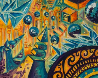 "Inner Dimensions 12 x 16"" Original Art Giclee Print"
