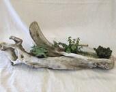 Ohio River driftwood tabl...