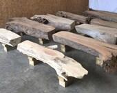 Ohio River driftwood pati...
