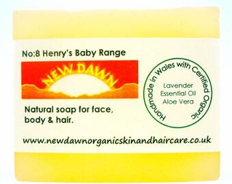 Baby Organic Soap ~ Natural Skin Care for Sensitive Skin ~ Newborn Baby ~ Handmade Soap ~ Vegan Soap ~ Baby Soap