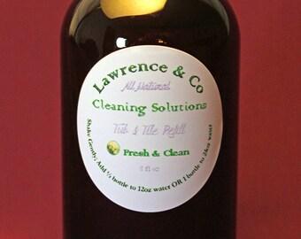 Tub & Tile Cleaner Refill, Fresh n' Clean, 8oz
