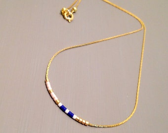 gold layered necklace tiny necklace tiny gold necklace small necklace everyday necklace
