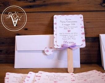 Communion invitation/wedding