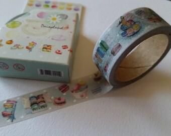 Macaron Patisserie Washi Tape
