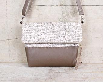 "Foldover bag ""RANIA"""