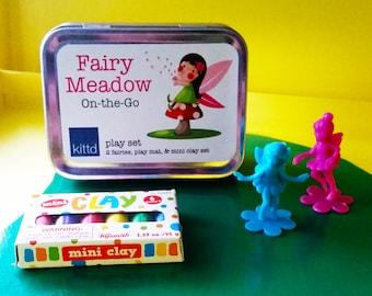 FairyMeadow On-the-Go Travel Play Set Tin