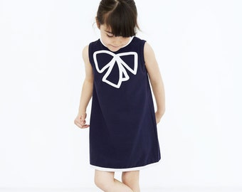 The Royal Pea Sleeveless Blue Dress