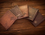 Mens Wallet, Leather Wallet, Groomsmen Gift, boyfriend gift, husband gift, gifts for him, anniversary gifts for men, mens gift