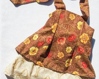 Baby girls dress - size 2 - vintage floral dress - Toddler dress - Girls dress - Kids dress - Party dress - birthday dress - flower girl