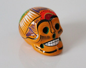 Ceramic Day of The Dead Sugar Skull