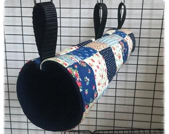 Tube/Tunnel Patchwork Hammocks for Rats Ferrets Chinchilla Gerbil Degu