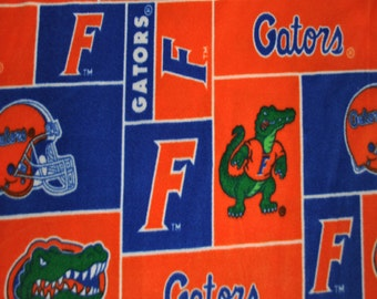 Florida Gators Fleece Fabric (By The Yard)
