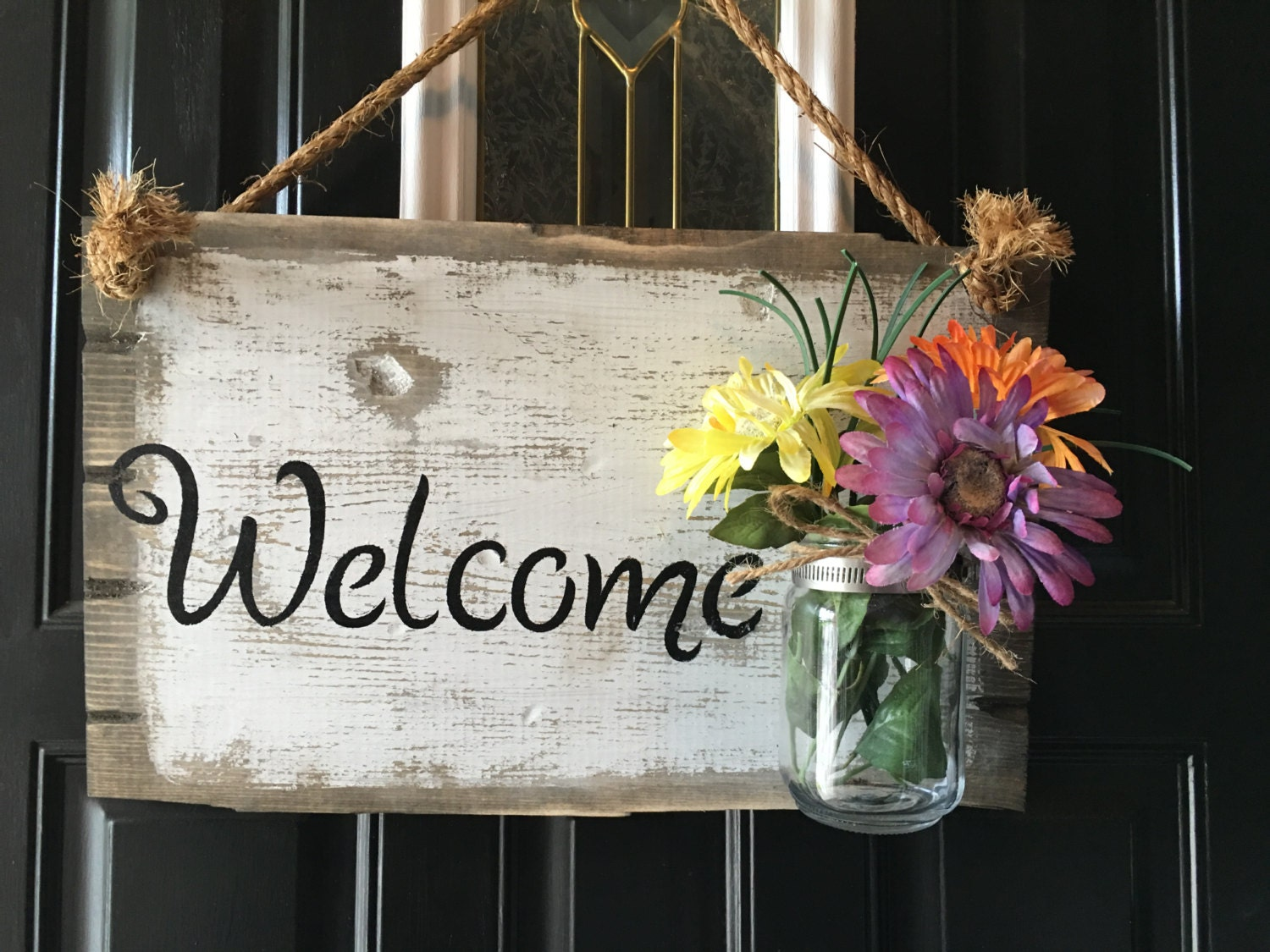 Beautiful Wedding Welcome Sign - Randleton Designs