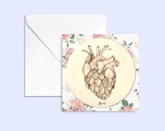 card Coeur d