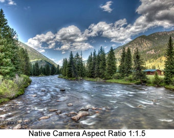 The Gallatin River: Landscape art photography prints for home or office wall decor.
