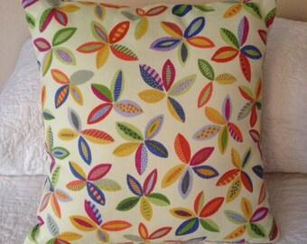 Modern Flower Throw Pillow 16 x 16 (in)