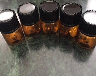 Sample pack essential oils (pack of five)