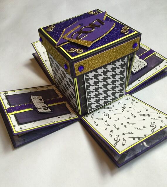 Boxed Photo Albums: Custom Explosion Box Photo Album From InACreativeTizzy On