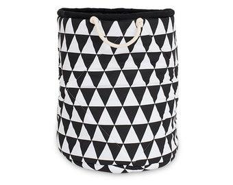 Basket for toys – Black&White