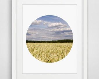 Printable Wall Art Nature Photographs Minimalist Circle Photography Posters