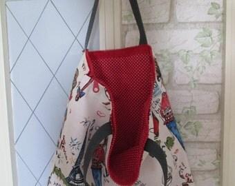 Children bag zipper girls large 40 x 42 cm