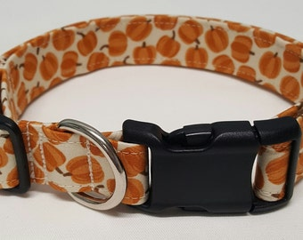 dog collar, pumpkin patch, halloween dog collar, halloween collar, fall dog collar, fall collar, pumpkin dog collar, pumpkin collar, pumpkin