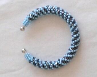 Handmade mini Beads Bracelet tubes and rubbles