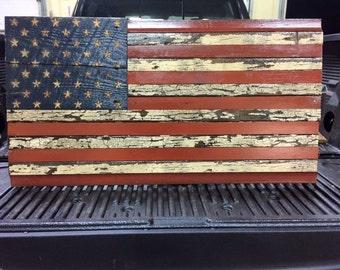 Distressed American Flag
