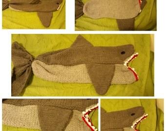 Shark Cocoon blanket